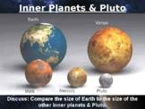 Planet Space Solar System Universe Size Comparison PowerPo