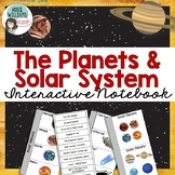 Solar System / Planets Interactive Notebook Template and A