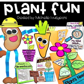 Plant Fun {activities, writing, and craftivities}