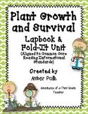 Plant Growth and Survival Lapbook Unit {Common Core}