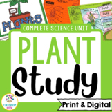 Plant Unit (Lessons, Worksheets, Assessments, Game, Bullet