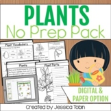 Plants No-Prep Printables