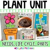 Plants! Mini Unit & Craftivity (Plant Parts, Life Cycle, N
