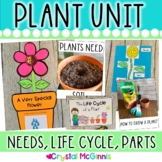 Plants! Mini Unit & Craftivity (Plant Parts, Life Cycle, N