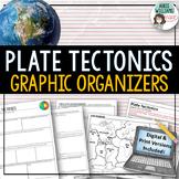 Plate Tectonics / Continental Drift - Graphic Organizer