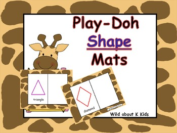 Play-Doh Shape Mats