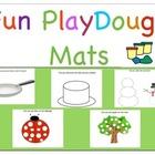 Playdough Mats Pre-School and Kinder!