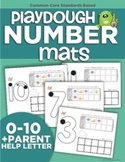 Playdough Number Mats (featuring Monster Numbers)