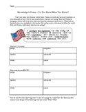 Pledge of Allegiance Vocabulary Activity