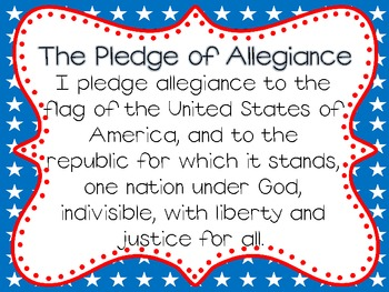 Pledge of Allegiance and Oklahoma Flag Salute