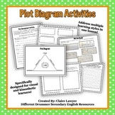 Plot Diagram Activities: Diagram, Visual Story, and Make-Y