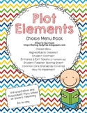 Plot Elements Choice Menu Pack for Differentiation and Ext
