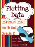 Common Core Measurement and Line Plot Unit- 2nd Grade