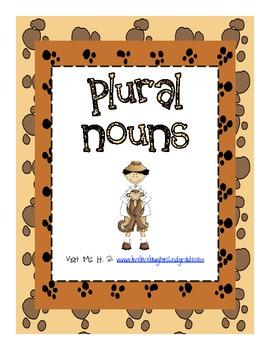 Plural Nouns 2nd Grade