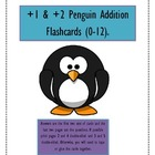 Plus 1 & 2 Penguin Addition Flashcards