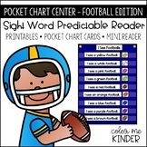 Pocket Chart Sight Word Center Football Edition: See