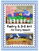 Poetry & 3-D Art...for Every Season! (now with Christmas art!)