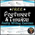 Poetry Activity Twitter-Style: Writing a Poetweet or Twaiku