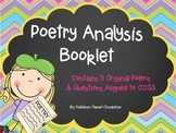 Poetry Analysis Booklet