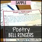 Poetry Bell-Ringers - FREE Complete Week