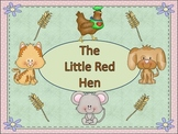 Poetry Center-Little Red Hen Poem and Activities