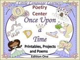 Poetry Center:  Once Upon a Time-Printables, Projects and