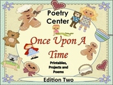 Poetry Center- Once upon a Time- Printables,Projects and P