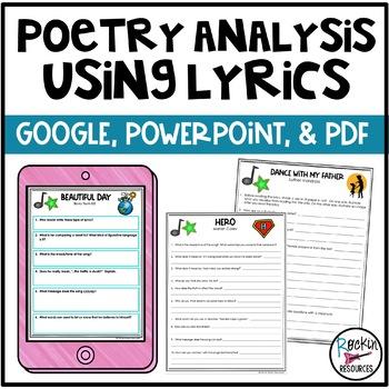 Poetry Analysis Using Lyrics