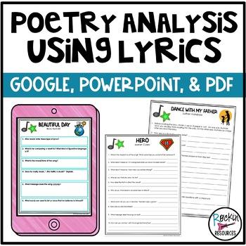 Poetry Analysis Using Lyrics