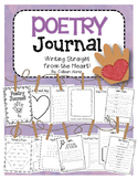 Poetry Journal: Templates to Teach Poetry