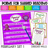 Poetry Station and Shared Reading for February-CC aligned