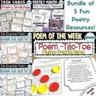 Poetry Super Bundle! 5 Poetry Resources!