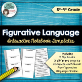 Figurative Language - Interactive Notebook Templates