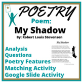 Poetry Test Passage: My Shadow by RLS