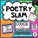 Poetry- Types, Elements, and Analyzing Posters or Slides