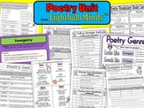 Poetry Unit from Lightbulb Minds