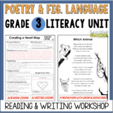 Poetry and Figurative Language Unit: Grade 3...40 Lessons
