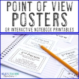 Point of View Posters {1st, 2nd, & 3rd person}