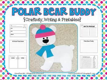 Polar Bear Buddy {Winter Craftivity, Writing & Printables}