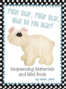Polar Bear, Polar Bear Sequencing Materials and Mini Book