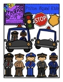 Police Squad Kids {Creative Clips Digital Clipart}