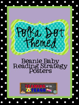 Polka Dot Beanie Decoding/Comprehension Strategies Posters