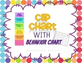 Polka Dot Clip Chart with Behavior Chart