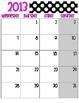 Polka Dot Keeping It Together Binder 2013-2014
