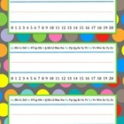 Polka Dot Name Plates {FREEBIE}