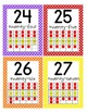 Ten Frame Posters (0-30) in 3 sizes (CCSS) - Polka Dot