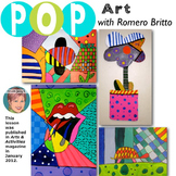 Pop Art Romero Britto