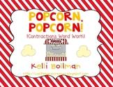 Popcorn! Popcorn! {Contractions} Word Work