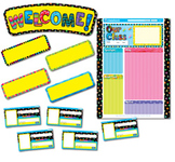 Poppin' Patterns Classbook - Classroom Bulletin Board Set