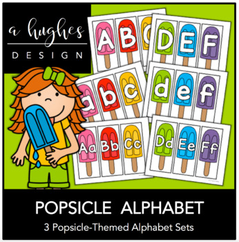 Popsicle Alphabet
